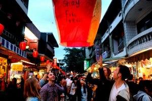 Pingxi Lantern Festival '13