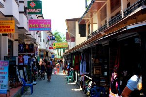 Koh Phi Phi streets